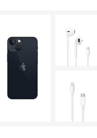 Apple iPhone 13 mini Minuit 256Go