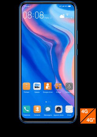 vue1 - Huawei P smart Z bleu