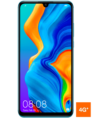vue1 - Huawei P30 lite bleu