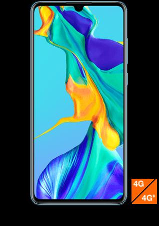 vue1 - Huawei P30 nacre