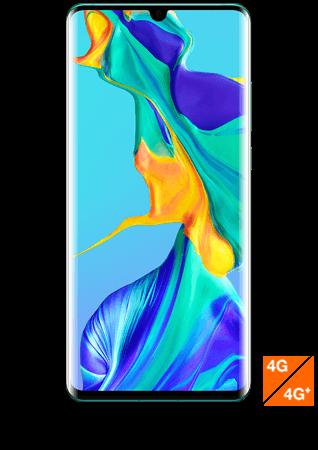 vue1 - Huawei P30 Pro bleu aurore