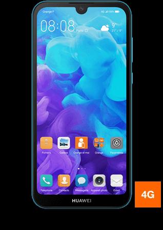 vue1 - Huawei Y5 2019 bleu