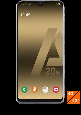 vue1 - Samsung Galaxy A20e blanc