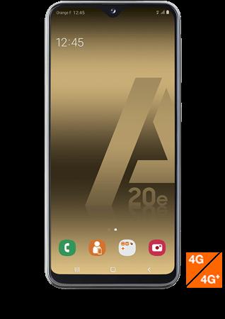 vue1 - Samsung Galaxy A20e noir