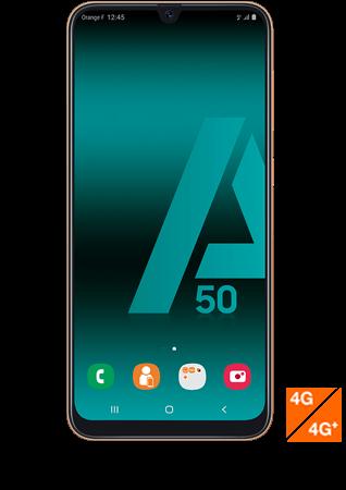 vue1 - Samsung Galaxy A50 corail
