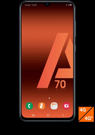 Vue1 - Samsung Galaxy A70 noir