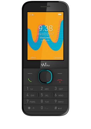 Wiko Riff 3G noir - vue 1