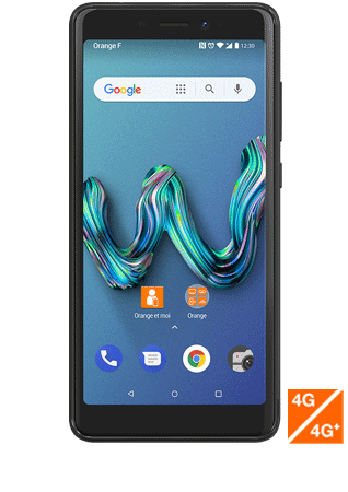 Wiko Tommy3 anthracite - vue 1