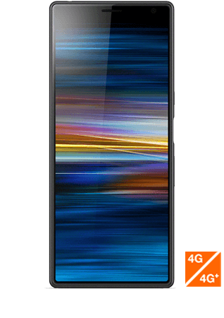 Xperia X10 Plus noir vue 1
