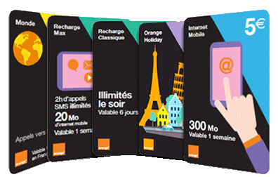 Carte Afrique Orange 15 Euros.Offres Prepayes Orange Mobile