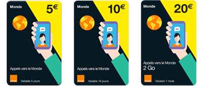Carte Afrique Orange 15 Euros.Recharges Prepayees Mobicarte Orange Mobile