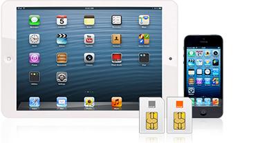 partagez internet de votre forfait mobile avec votre tablette orange. Black Bedroom Furniture Sets. Home Design Ideas