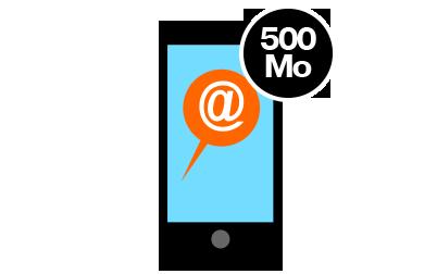 Internet 500mo for 500 mo internet