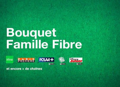 bouquet Famille Fibre (incluant FAMILLE by CANAL)
