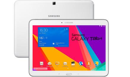 samsung galaxy tab 4 10 pouces quip du wifi et de la 4g tablette connect e multim dia id ale. Black Bedroom Furniture Sets. Home Design Ideas