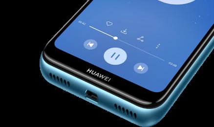 huawei y6 2019 bleu et noir prix mini telephone