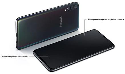 zigzag  1- Samsung Galaxy A70