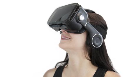 Casque réalité virtuelle Orange VR 1 Noir