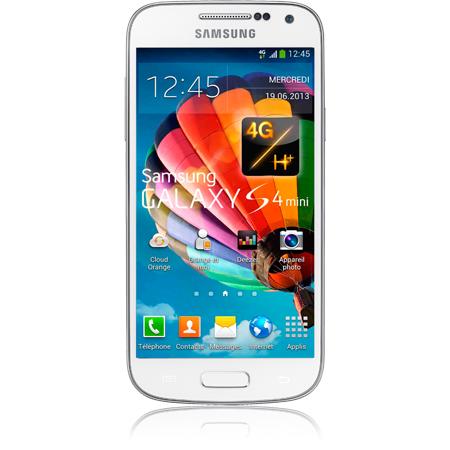 Samsung Galaxy S4 mini blanc- 4G - Ecran 4.3   - Apn 8 Mpxls - Orange bfc668bd6b3f