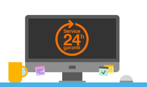 Service 24H garantie Orange