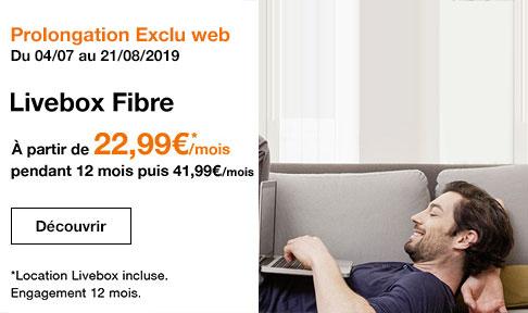 Exclu web internet Fibre