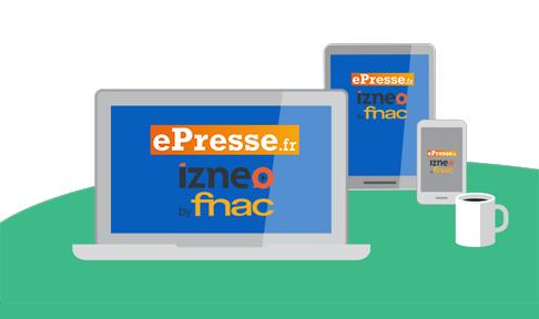 ePresse.fr et izneo by fnac