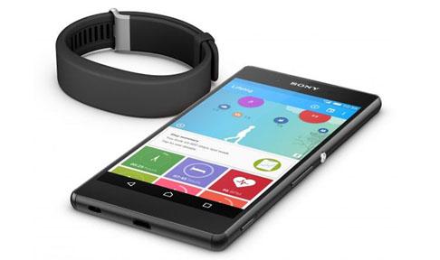 Bracelet Sony Smartband 2- FT vue1