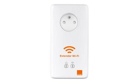 adaptateur cpl wifi extender wi fi orange. Black Bedroom Furniture Sets. Home Design Ideas