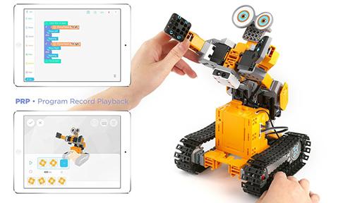 Robot connecte UBTECH Jimu Tankbot LIFESTYLE 2