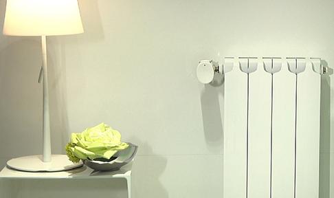 t te de vanne thermostatique connect e gaz fioul wiser. Black Bedroom Furniture Sets. Home Design Ideas