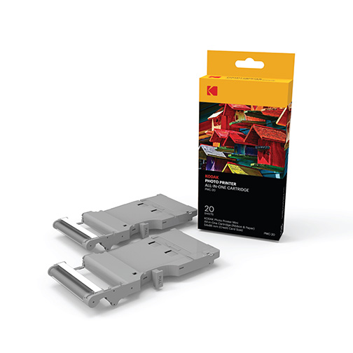 papier et cartouche 20 pour imprimante portable kodak photo printer mini orange prix avis. Black Bedroom Furniture Sets. Home Design Ideas