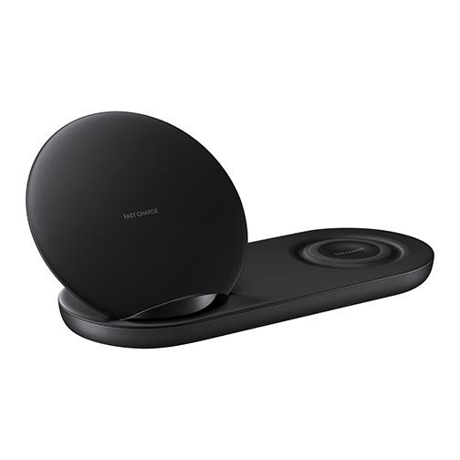 chargeur sans fil a induction duo samsung noir orange prix avis recommandations. Black Bedroom Furniture Sets. Home Design Ideas