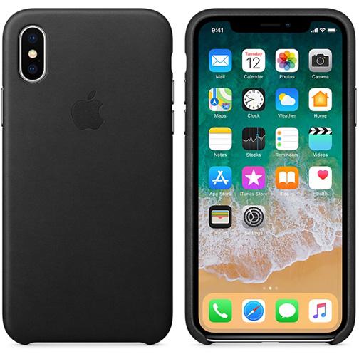 coque apple cuir iphone xs