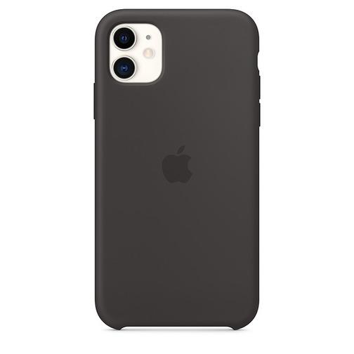 504x504 coque en silicone pour iphone 11 noir vue1 157593