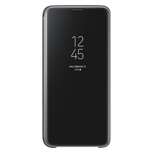 exclusive range shopping another chance Etui à rabat Clear View Samsung Galaxy S9 Noir