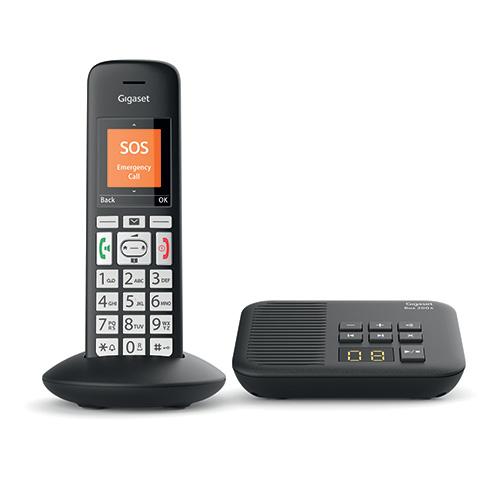 51086ffd3b4d66 Telephone Gigaset E375 A Solo Répondeur - Fixes  prix ...