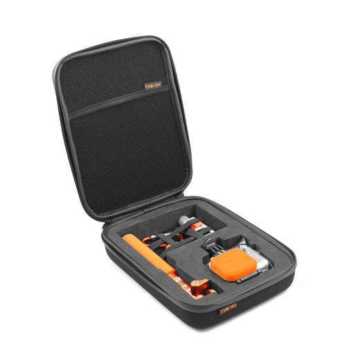 malette de rangement universel gopro orange. Black Bedroom Furniture Sets. Home Design Ideas