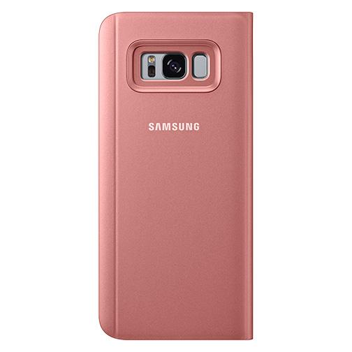 Etui Clear View Samsung Galaxy S8 Rose