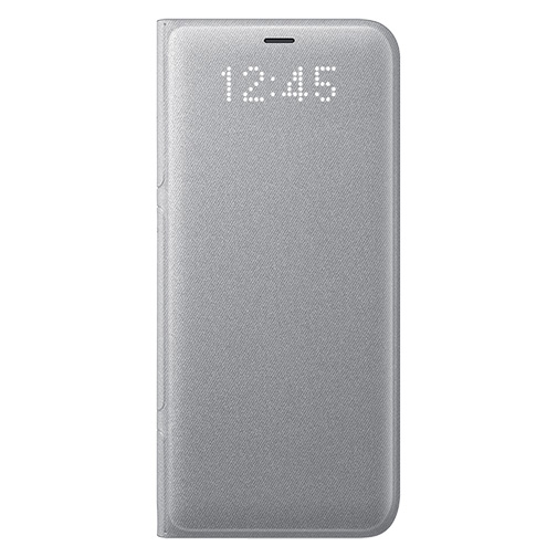 cheapest price discount new high quality Etui Led View Samsung Galaxy S8 Argent [décommercialisé]