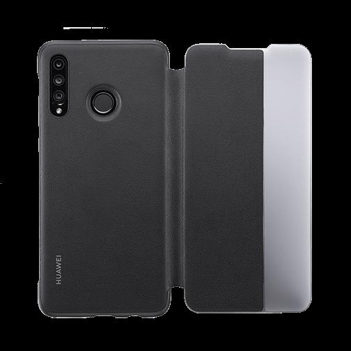 Etui à rabat Huawei P30 Lite Noir