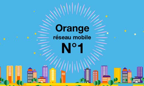 Orange réseau mobile n°1