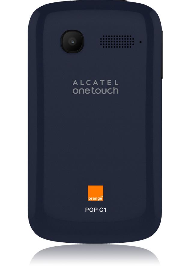 Alcatel One Touch Pop C1 Bleu Nuit Edge