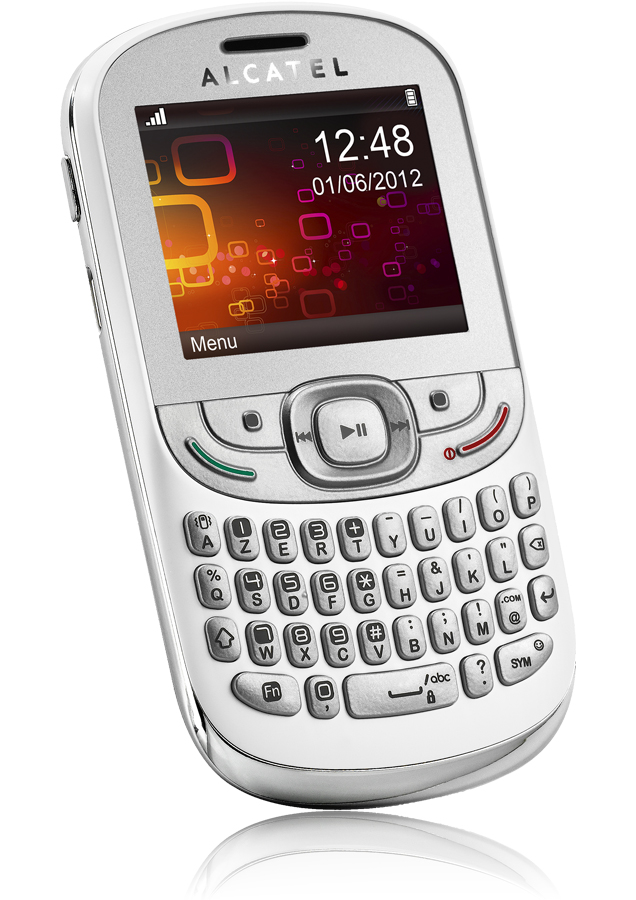 alcatel one touch 358 blanc azerty mp3 pas cher. Black Bedroom Furniture Sets. Home Design Ideas
