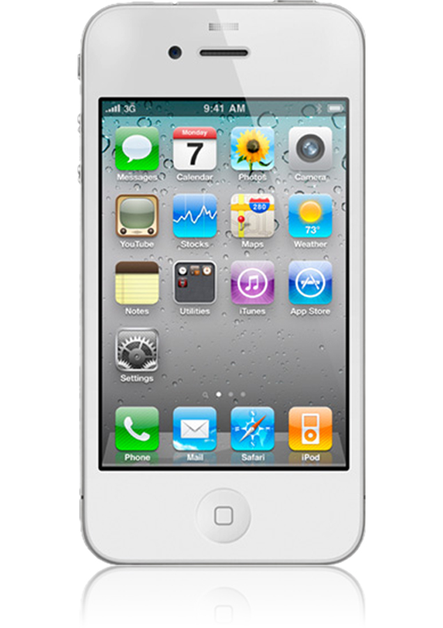 iphone 4 8go blanc reconditionn nouvel iphone sosh mobile. Black Bedroom Furniture Sets. Home Design Ideas