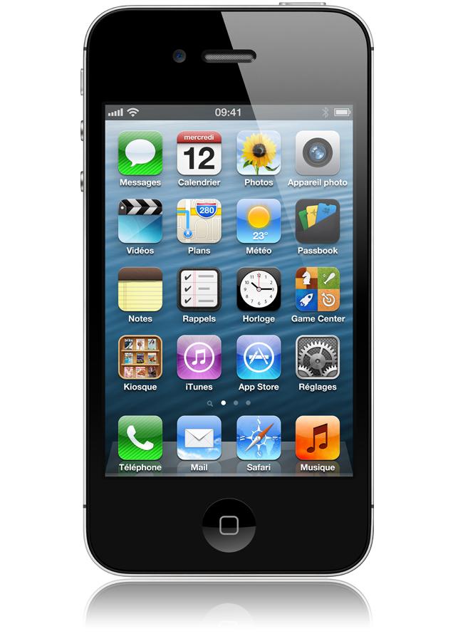 iphone 4s 8go noir avis et prix avec forfait