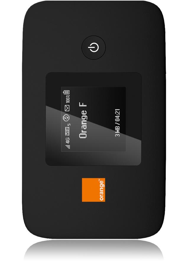 Domino 4g e5377 cl internet wifi cran lcd orange for Boitier exterieur france telecom