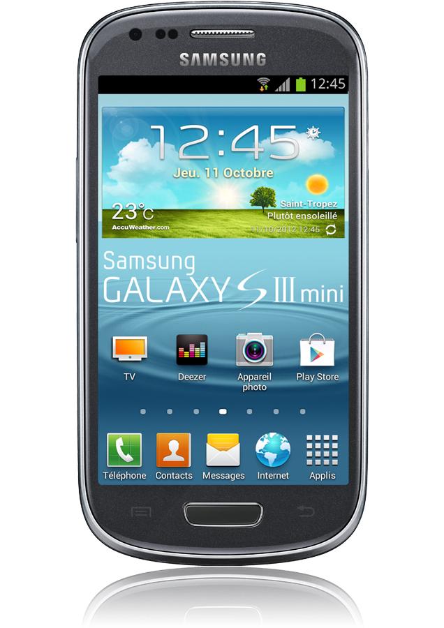 Samsung Galaxy S3 Mini Titanium Reconditionn Android 4 1