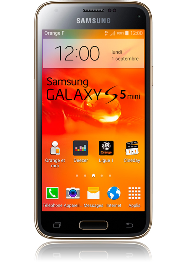 Samsung Galaxy S5 mini or -4G-apn 8 mpxls-écran 4,5