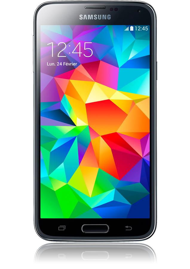Samsung Galaxy S5 noir-smartphone 4G-apn 16 mpxls-écran 5,1