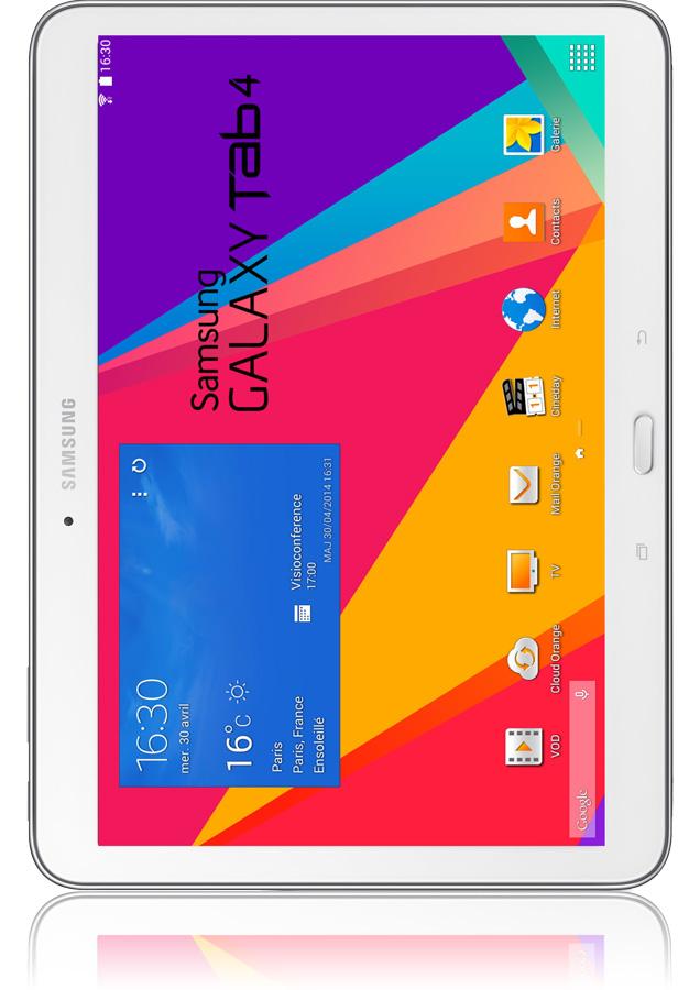 Samsung galaxy tab 4 10 pouces quip du wifi et de la 4g - Tablette samsung 50 euros ...